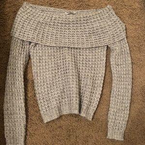 BKE Off the Shoulder Sweater
